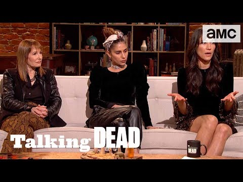'What Does the Ink on Magna's Chest Signify?' Fan Questions Ep. 910 | Talking Dead