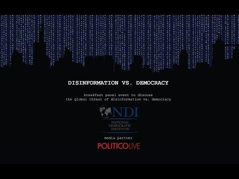 Breakfast Panel on the Global Threat of Disinformation vs. Democracy