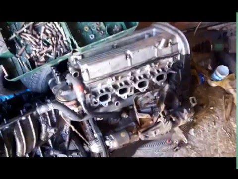 Фото к видео: Daewoo (Chevrolet) Nubira 98 A16DMS 1.6 установка, диагностика двигателя и АКПП 4T40-E ч1