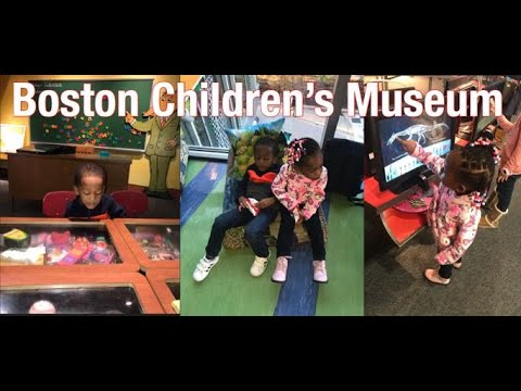 Boston Children's Museum with the Twins