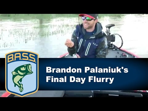 Brandon Palaniuk Championship Sunday flurry on Toledo Bend