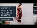 Capsule Wardrobe - 10 Items 10 Outfits - Minimalism Fashion X Voi Sydney CBD    SugarMamma.TV