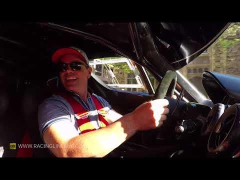 Craig Lowndes drives an FXX EVO through Adelaide (in-car) 🔊