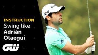 How to Hit a 100 Yard Pitch Shot | Adrián Otaegui Pro Golf Tips | Golfing World