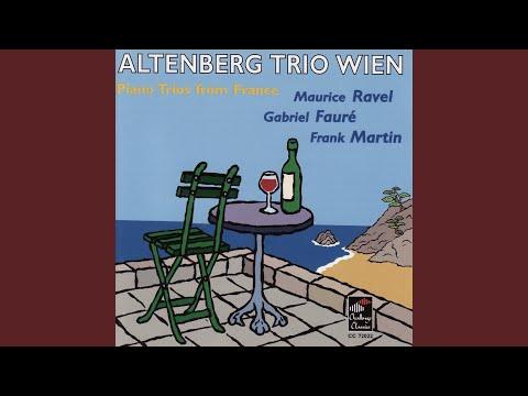 Trio For Piano, Violin And Violoncello In D Minor, Op. 120: Andantino