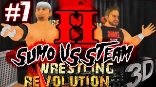 MDickie's Wrestling Revolution 3D #7: Extreme Sumo vs Calvin Steam 2