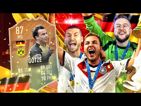 FIFA 19: MARIO GÖTZE FLASHBACK Squad Builder Battle 🔥😱