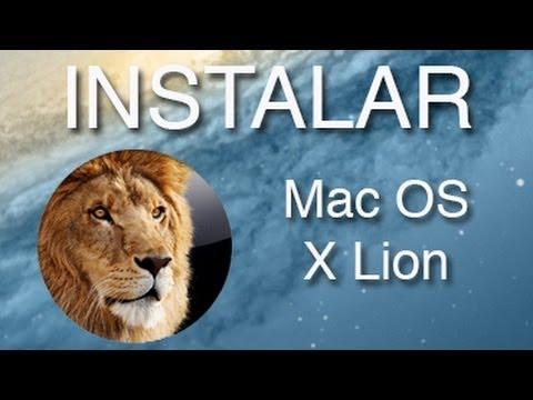 Cómo instalar Mac OS X Lion
