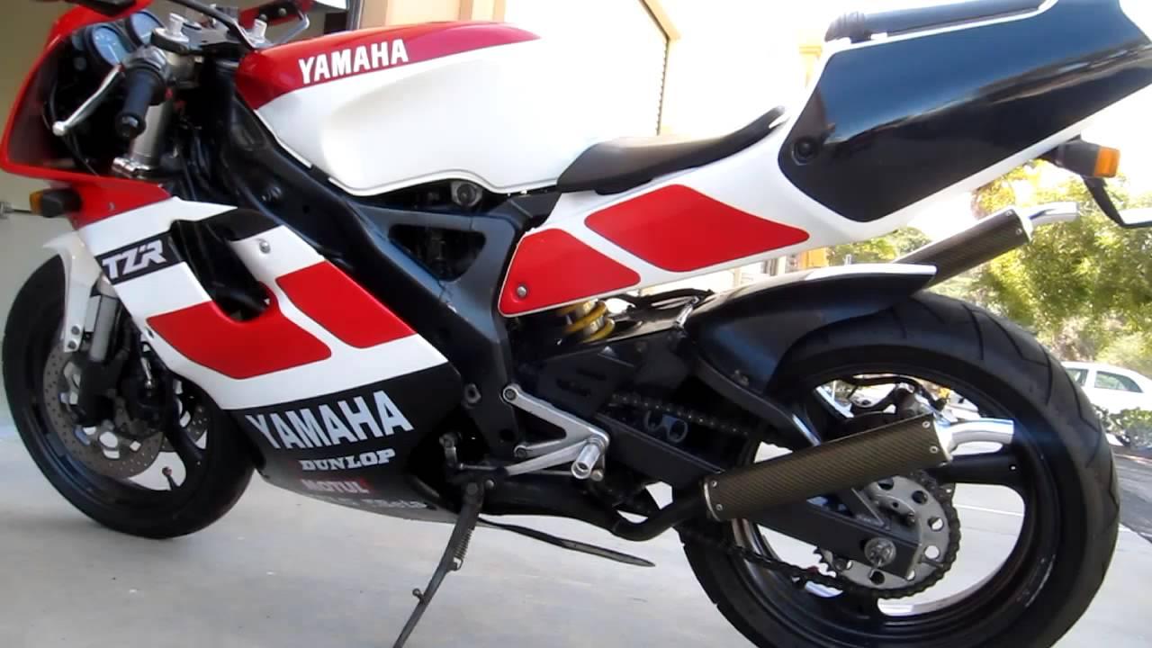 1992 tzr 250 3xv youtube rh youtube com TZ250 2003 Yamaha TZ250 Parts