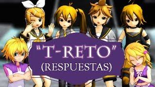 "Gambar cover [MMD] ""T-RETO"" (Respuestas)"