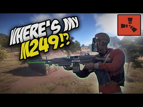 HE LOST MY M249!!! - Rust Co-op Survival #1 [5,000 SUB SPECIAL!]