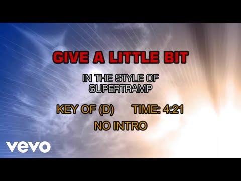 Supertramp - Give A Little Bit (Karaoke)
