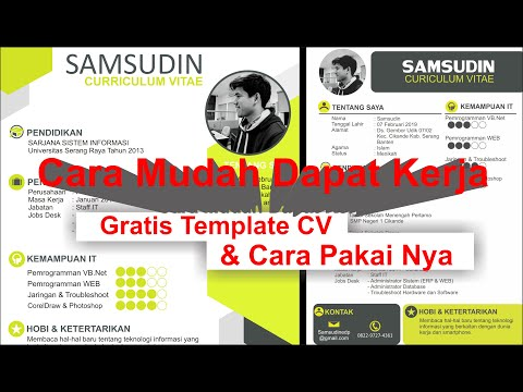 Cara Membuat CV Portofolio Keren di HP Smartphone Android iOS - Canva.com [ Tutorial Indonesia ].