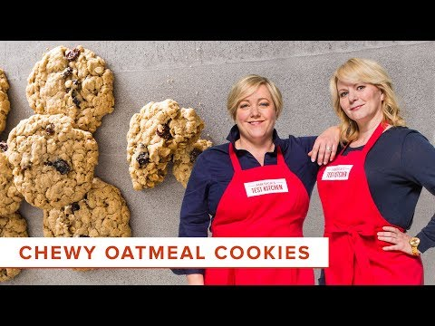 The Best Recipe For Chewy Oatmeal Cookies Is Not On The Back Of The Oat Canister