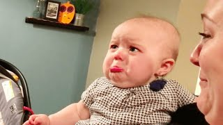 10 Minutes Of Funny Babies Scared Of Everything - Funny Baby Reactions