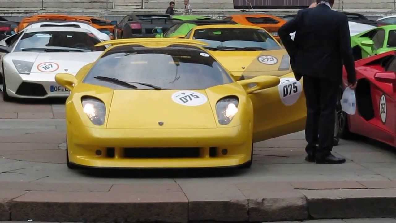 lamborghini cala revving - youtube