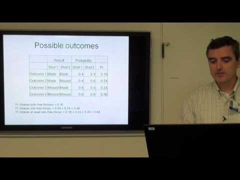 Biostatistics & Epidemiology Lecture Series - Part 2: Probability and Types of Distributions