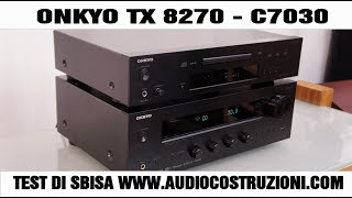 Onkyo TX 8270 - C7030 Test HD