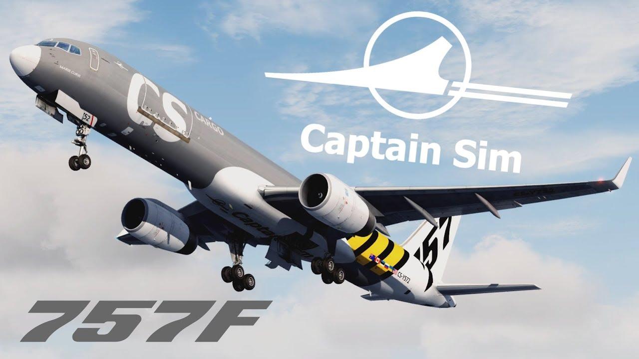 fsx captain sim 757 freighter