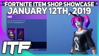 Fortnite Item Shop *NEW* LACE AND PARADOX SKIN SET! [January 12th, 2019] (Fortnite Battle Royale)