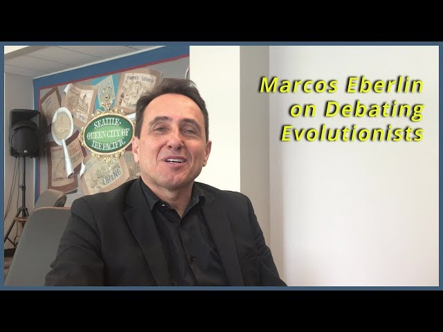 Marcos Eberlin On Debating Intelligent Design With Evolutionists
