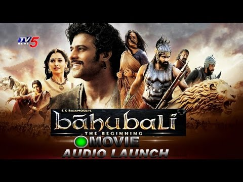 Baahubali - The Beginning Audio Launch | SS Rajamouli | Prabhas,Rana Daggubati, Anushka | TV5 News