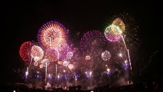 [HD 1080p]海外からも絶賛!世界一美しい日本の花火大会  The most beautiful Japanese fireworks in the world thumbnail