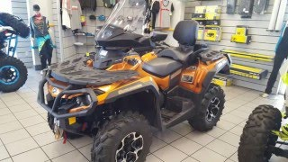 New 2016 Can-Am® Outlander™ MAX Limited 1000R For Sale in Chandler near Mesa, Phoenix, and Tempe, AZ