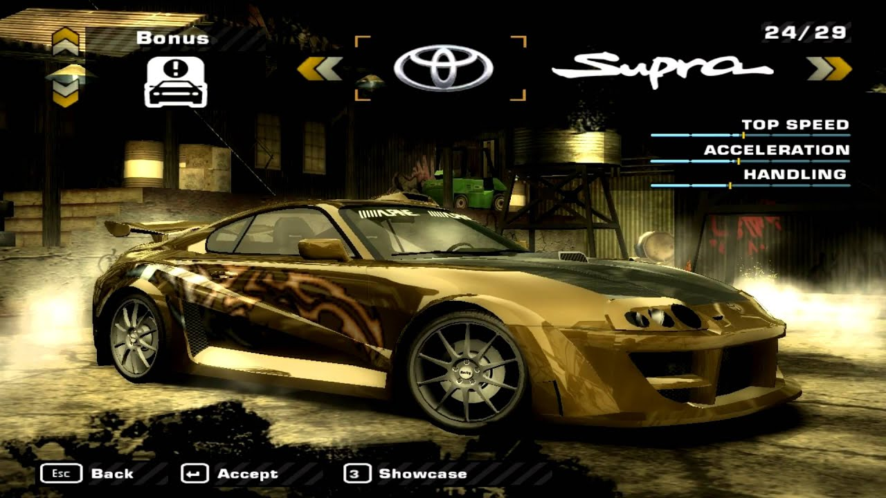 Nfs Most Wanted 2 Cars Wallpapers Nfs Most Wanted Black Edition 2005 Car Showcase Youtube