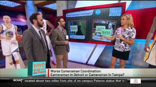 Michelle Beadle on SportsNation   4/21/14 - 4/25/14