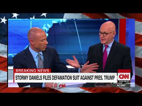"""Avenatti'S HEATED Debate with CNN Panelist, """"You're G0lNG To Have to ST0P Interrupting Me"""""""