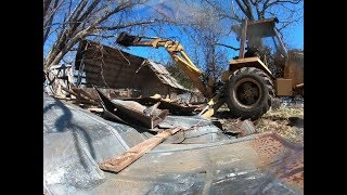 Scrap car and barn destruction on the farm!