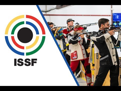 10m Air Rifle Mixed Team Final - 2018 ISSF World Cup Stage 3 in Fort Benning (USA)