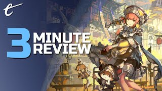Tasomachi: Behind the Twilight  | Review in 3 Minutes (Video Game Video Review)