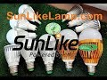 КАТАЛОГ лампочек на солнечных светодиодах SunLike LEDs TRI-R 2018 SunLikeLamp.com санлайк