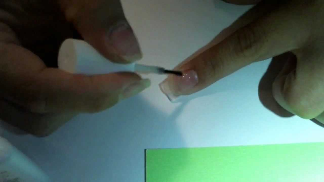 How to apply silk wrap on natural nail - YouTube