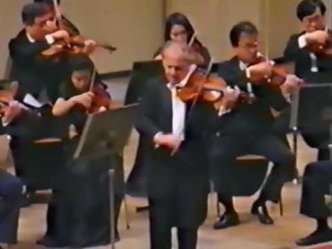 Gyorgy Pauk - Mendelssohn -  Violin Concerto Mvt.1