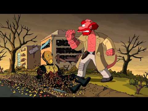 Treehouse of Horror XXIV Couch Gag by Guillermo del Toro   THE SIMPSONS   ANIMATION on FOX