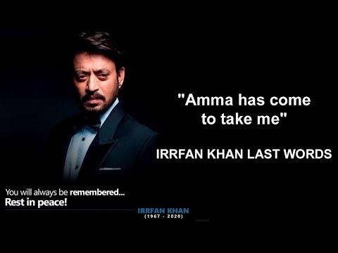 A Poem Dedicated to Irrfan Khan 2020 😢| इरफान खान के नाम कविता
