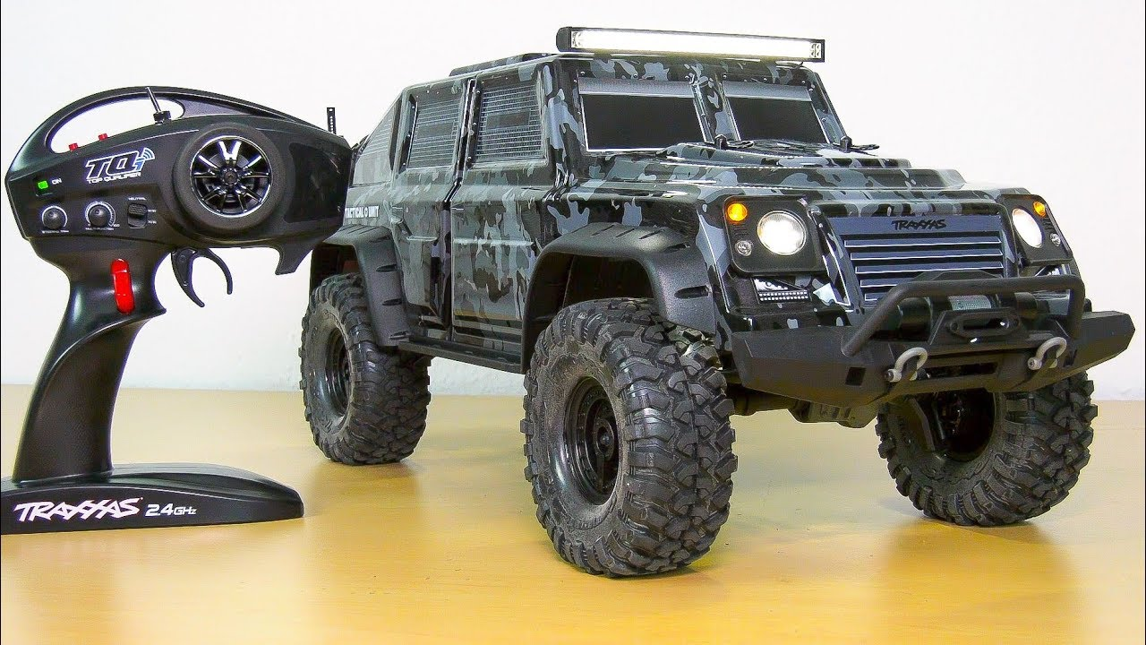 traxxas trx 4 tactical unit unboxing test rc trail. Black Bedroom Furniture Sets. Home Design Ideas