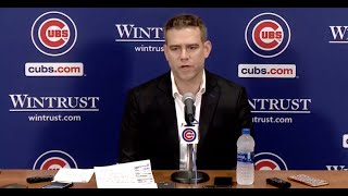 Sports Betting EXPERT & Lifelong Cubs fan. Breaks Down Theo Epstein leaving the Cubs & Free NFL play