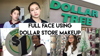 full face using dollar tree makeup :)