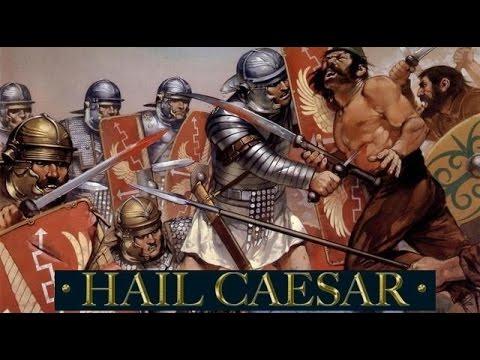 Hail Caesar Battlereport 17 Romans vs dacian & celts