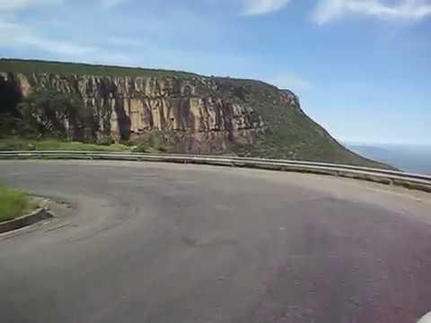 Driving down the Leba Pass, Angola