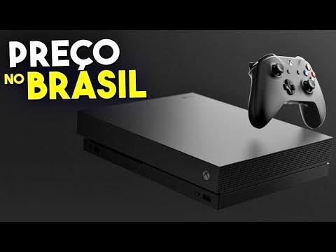 XBOX ONE X PREÇO NO BRASIL - ESTÁ BOM ?!