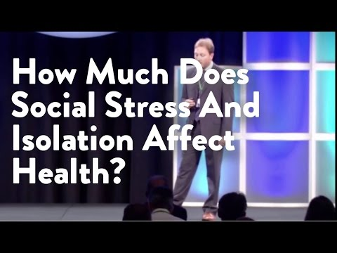 How Much Does Social Stress And Isolation Affect Health?
