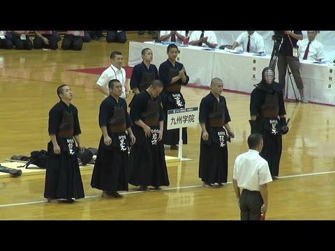 九州学院 空前絶後の四連覇 インターハイ剣道2016