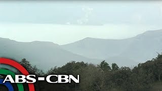 Live shot of the Taal Volcano | ABS-CBN News