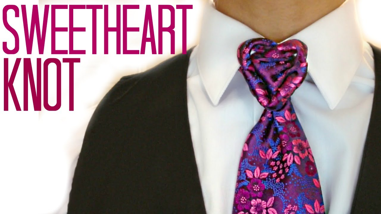 The sweetheart knot how to tie a tie youtube ccuart Choice Image