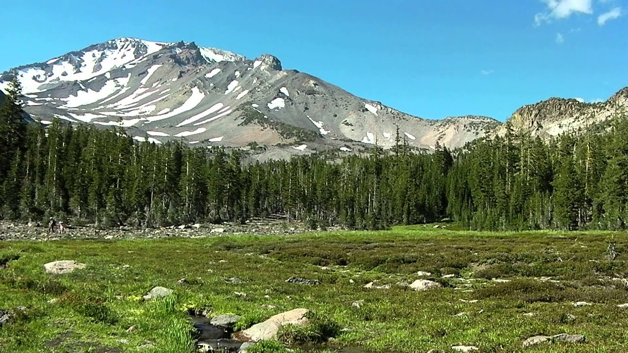 Mt Shasta Ca >> 6 Minutes of Serenity at Panther Meadow, Mt. Shasta, California - YouTube
